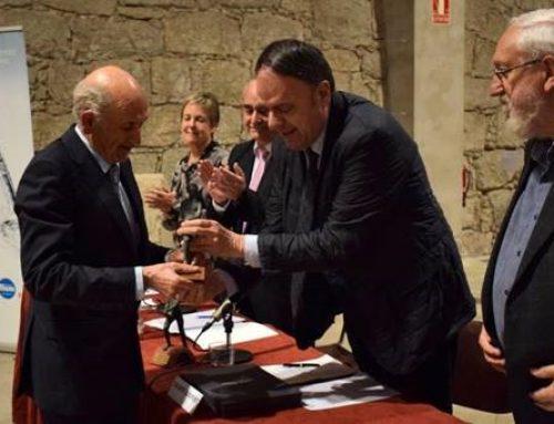 Sebastià Catllà, President de l'Associació d'Empresaris del Pont Nou rep el premi Sèquia 2019