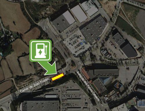 Instal·lació dos punts de recàrrega ràpida de vehicles elèctrics a Els Trullols Parc