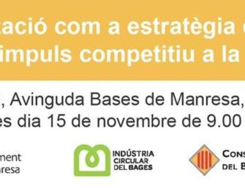 Jornada Comarcal – La servitització com a estratègia d'economia circular i impuls competitiu a la indústria