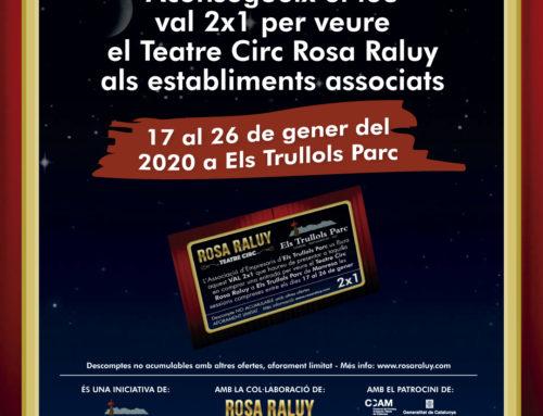 Vals 2×1 Circ Rosa Raluy